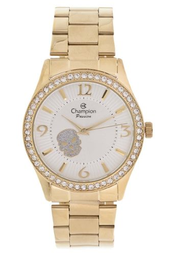 Relógio Champion Cn29669h Dourado