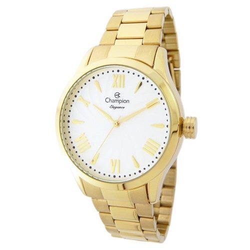 Relógio Champion Feminino Cn27796h Elegance