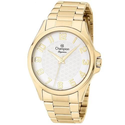 Relógio Champion Feminino Cn26377h Elegance