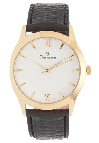Relógio Champion Feminino Dourado Ch22742m Original