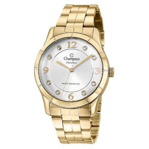 Relógio Champion Feminino Rainbow Dourado