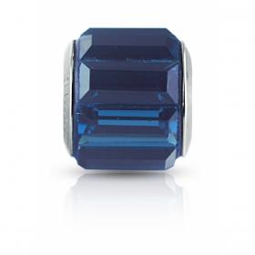 Berloque Cristal Montana Azul