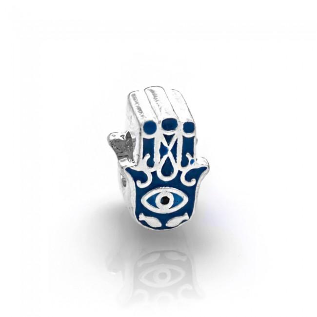 Berloque Mão de Fátima e Olho Grego