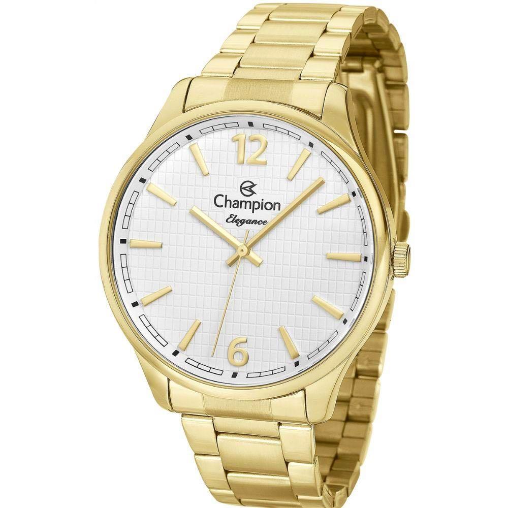 Relógio Champion Dourado Elegance Feminino Cn27670h