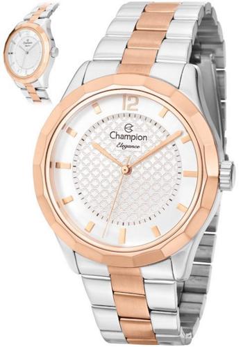 Relógio Champion Elegance Analógico Feminino Cn27581s