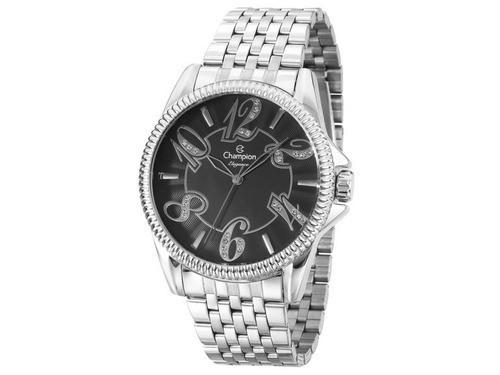 Relógio Champion Feminino Prateado Cn27358t
