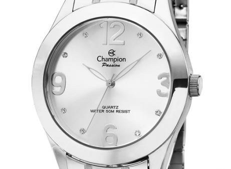Relógio Champion Prateado Feminino Passion Ch24268q