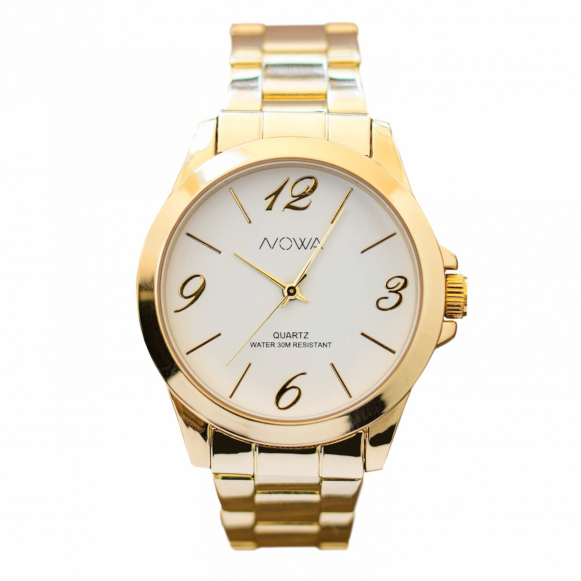 Relógio Nowa Feminino Dourado NW1015K