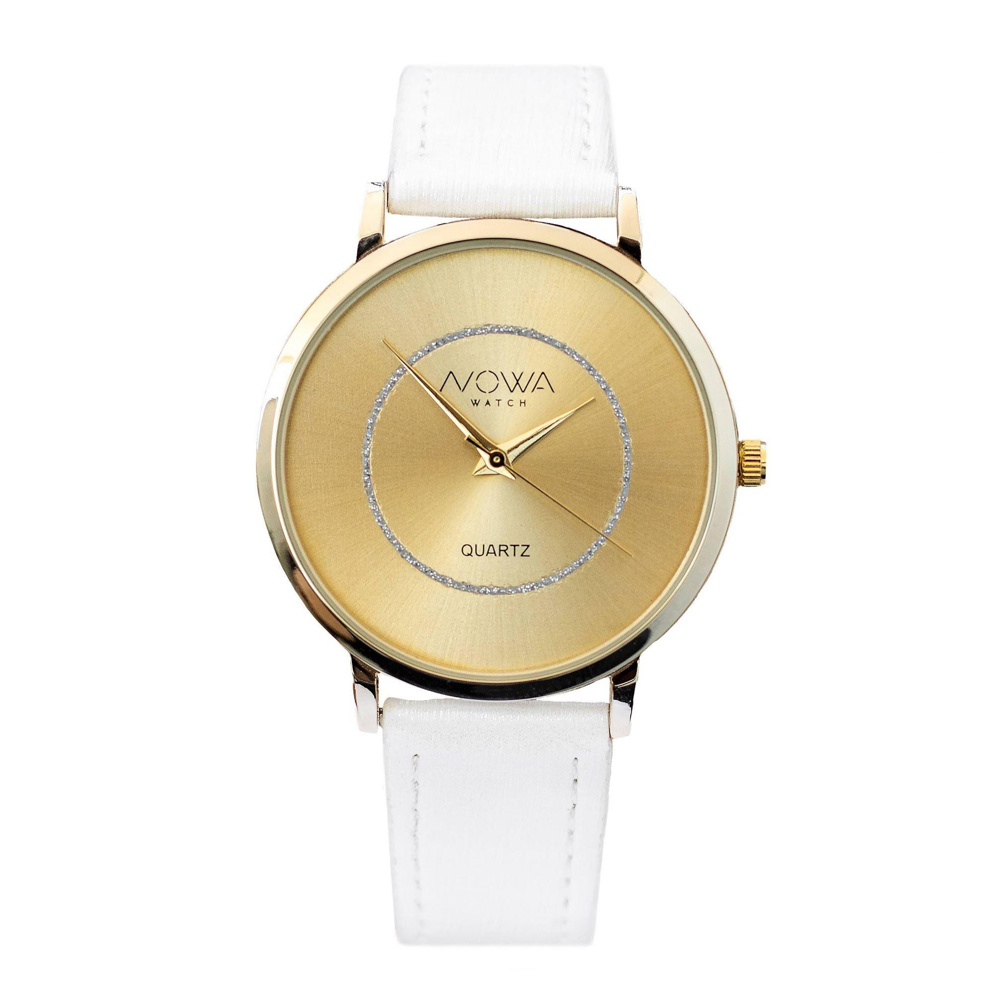 Relógio Nowa Feminino NW1408K Couro