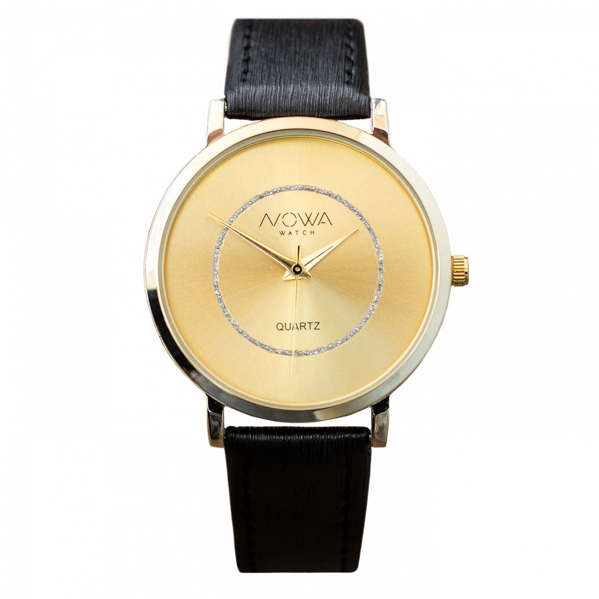 Relógio Nowa Feminino NW1409K Couro