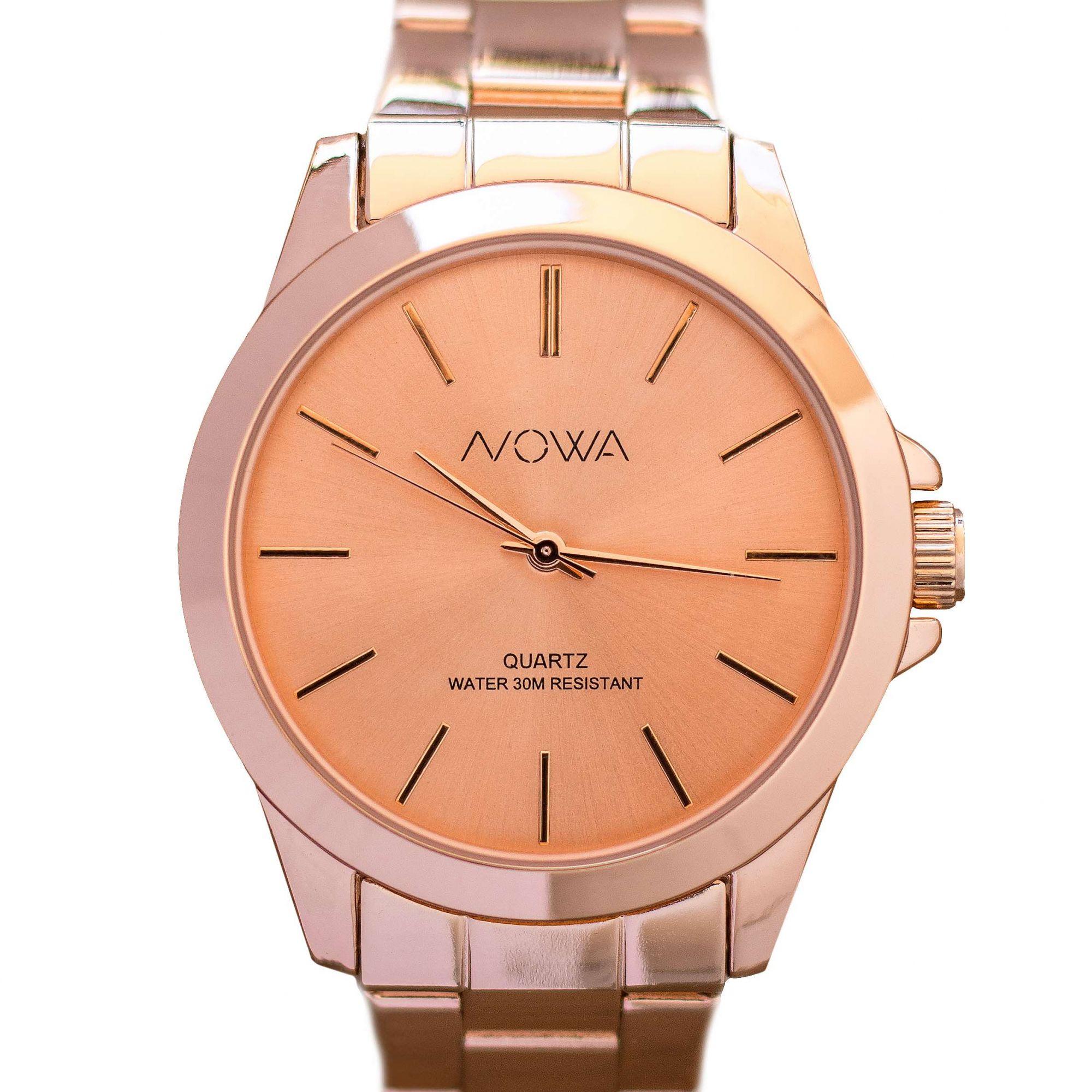 Relógio Nowa Feminino Rose NW4014K