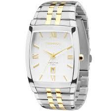 Relógio Technos Dourado Masculino 1n12mq/5b