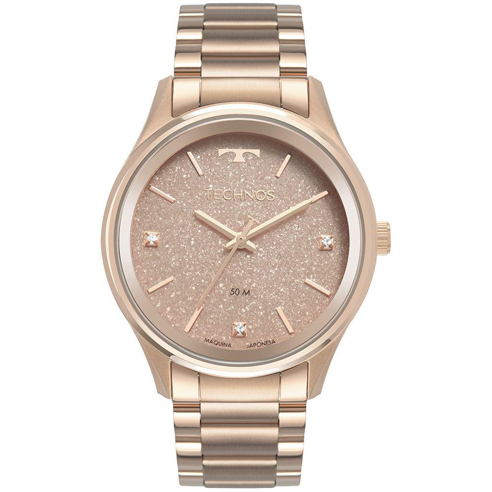 Relógio Technos Feminino Rose 2036MLY4T