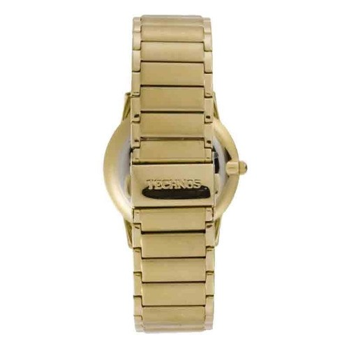 Relógio Technos Gl20aq Masculino Feminino Dourado