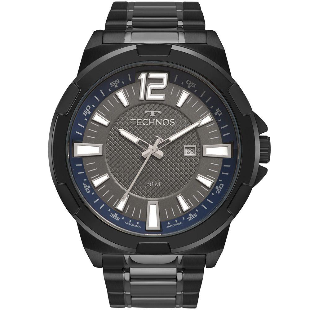 Relógio Technos Masculino Preto 2117LCI4C