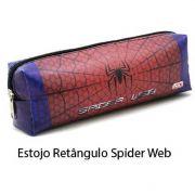 Estojo Escolar Masculino Infantil Retangular Red Dog Race Camuflado Spider