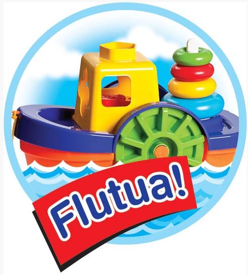Barco Didatico Flutua na Agua Educativo