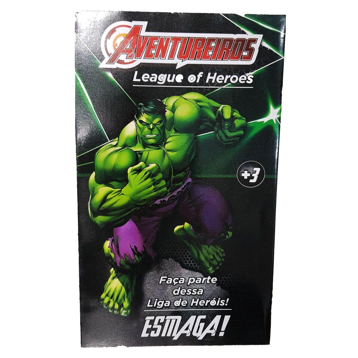 Boneco Incrivel Hulk Grande