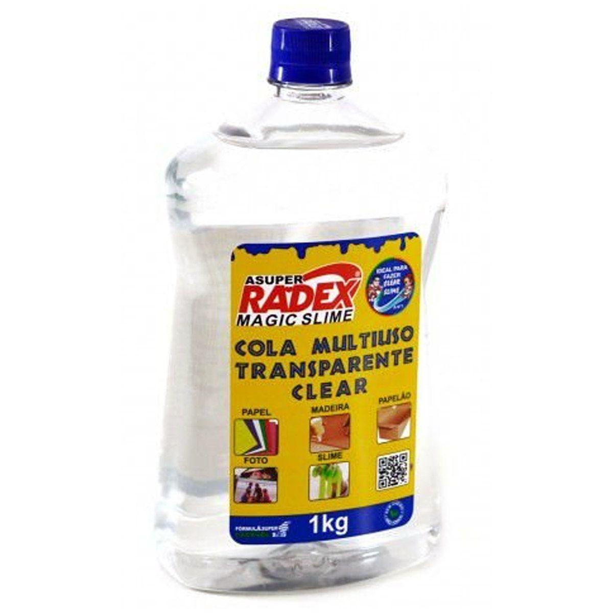Cola Escola Magic Slime Multiuso 1kG Radex