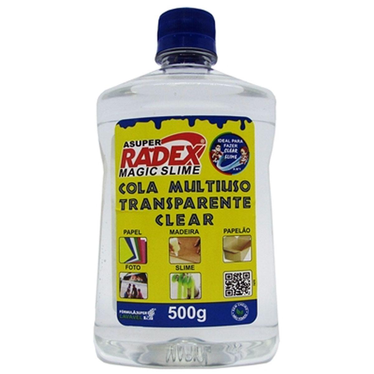 Cola Escola Magic Slime Multiuso 500G Radex