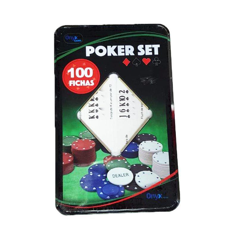 Fichas de Poker Set 100 Fichas