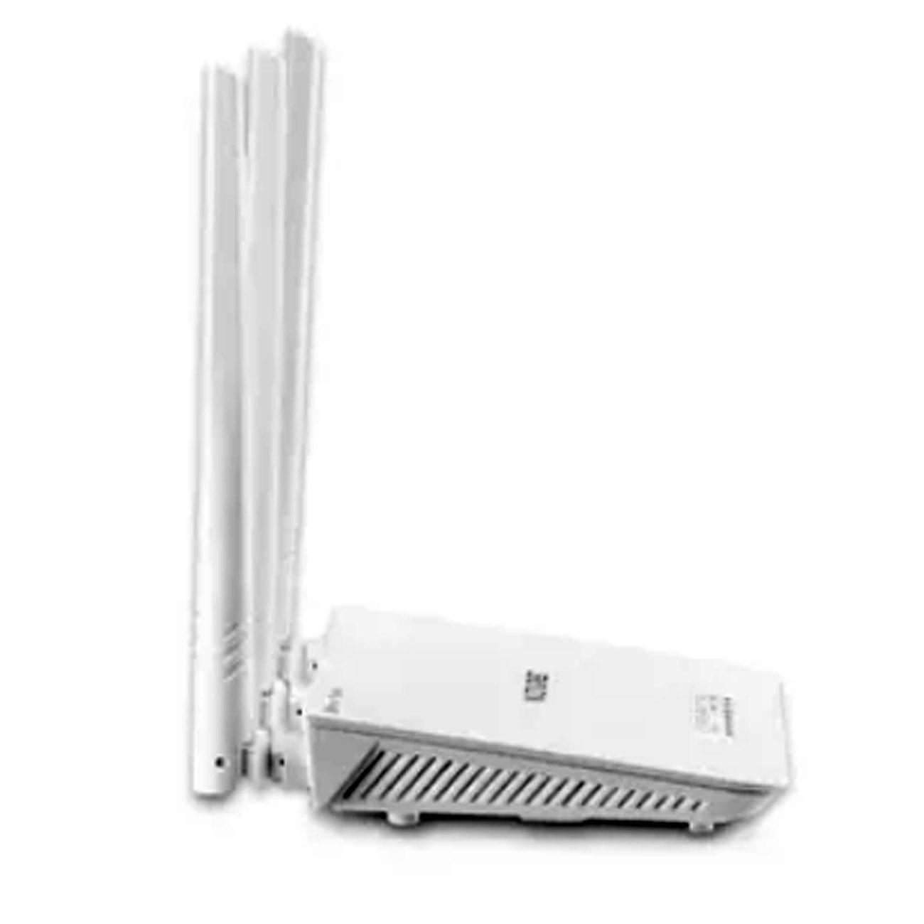 Roteador Três Antenas Branco Ipv6 300 Mbps RE163V