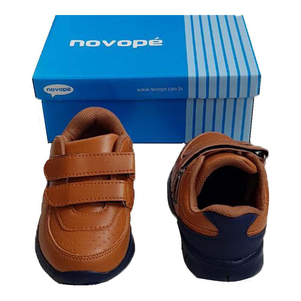 Tênis Courinho Infantil com fecho em Velcro Super Confortável