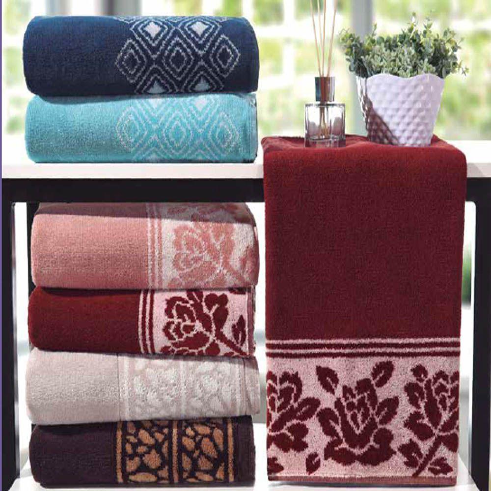 Toalha de Banho Elegance Bene Casa 0,68X1,35 Felpuda Premium