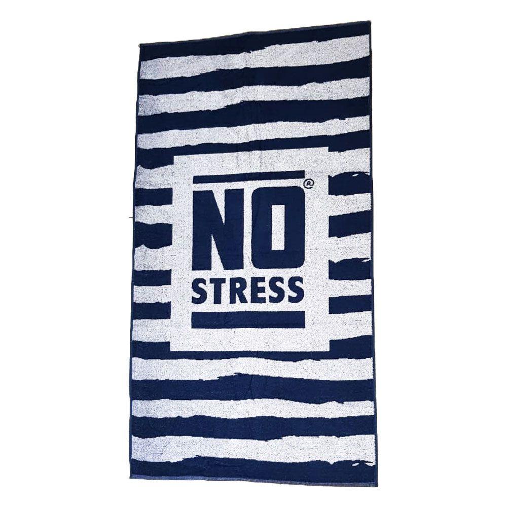Toalha de Praia No Stress 0,78 X 1,40 Algodão Premium