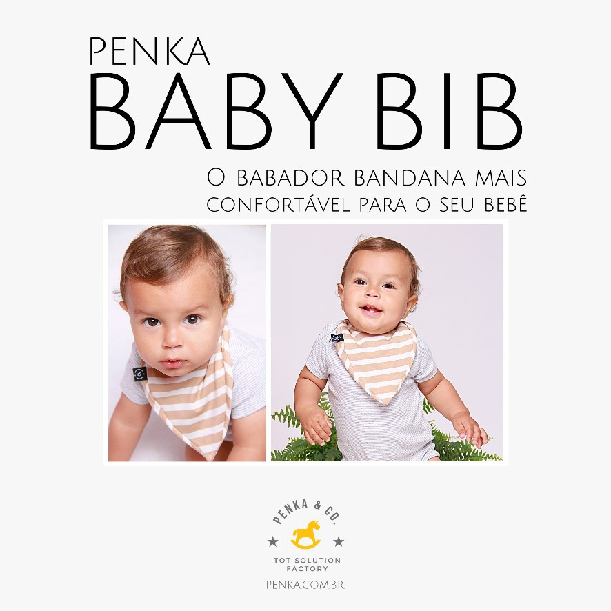 Babador Bandana Penka Bib (im)PERFEITOS