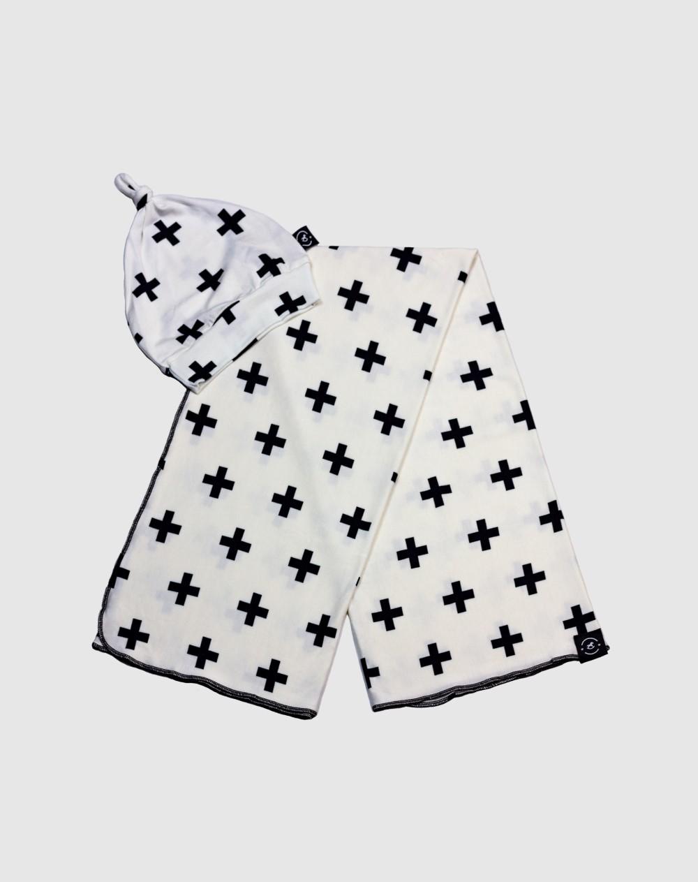 Penka Baby Essentials Olaf - Kit Enxoval para Bebê Cueiro + Gorrinho