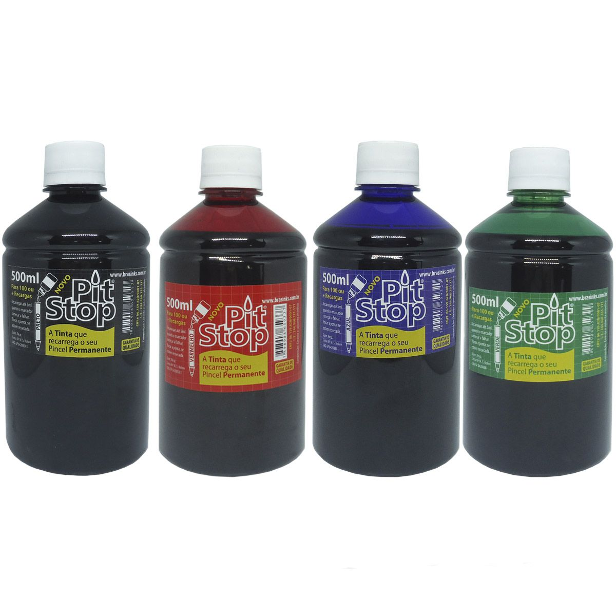 TINTA PERMANENTE PIT STOP 500ML