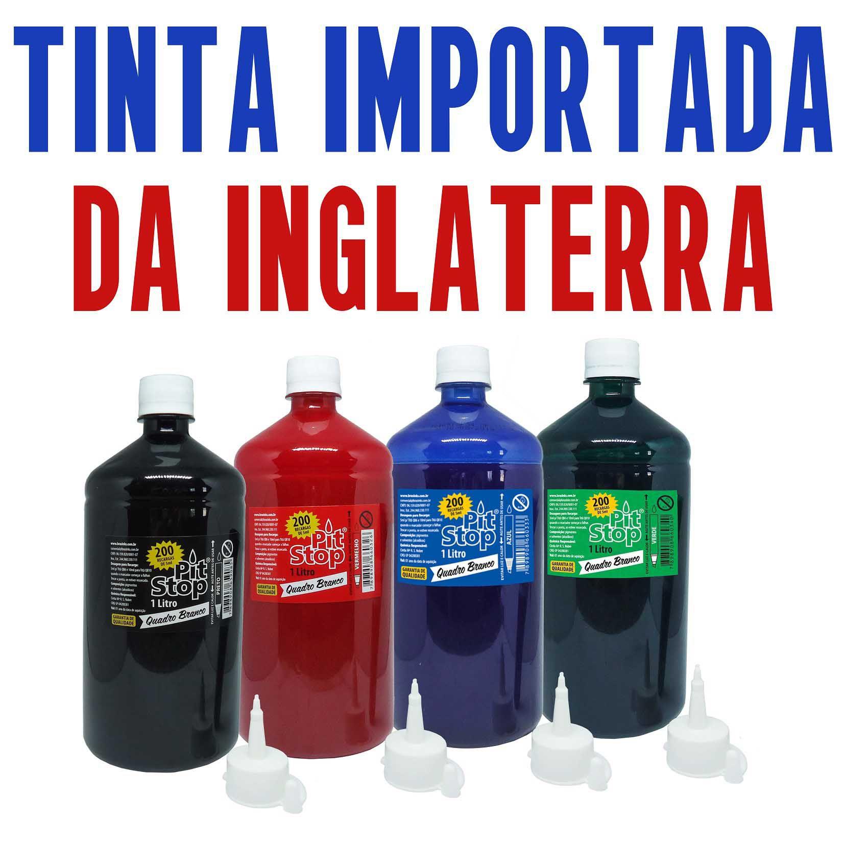 TINTA QUADRO BRANCO PIT STOP - 1Litro