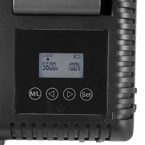 ILUMINADOR LED GODOX LD-500C COM CONTROLE REMOTO