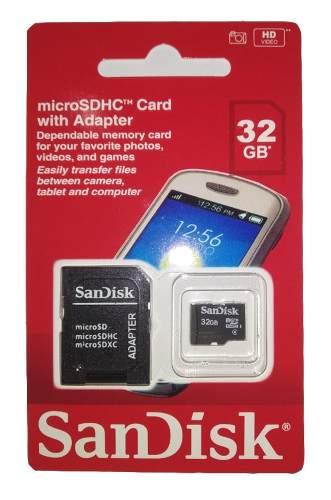 Cartão De Memória Micro SD Sandisk  32gb