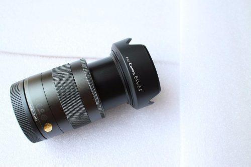 Parasol Canon EW-54 para lente EF-M 18-55mm f/3.5-5.6 IS STM