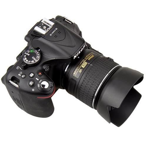 Parasol Nikon HB-69 para lente Nikon AF-S DX NIKKOR 18-55mm f / 3.5-5.6G VR II