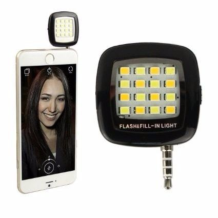 Mini Flash 16 Leds Para Celular