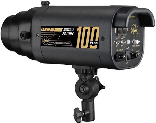 Flash Digital De Estúdio 100 Plus Atek Bivolt Automático
