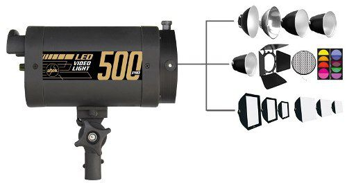 Iluminador Video Light Led 500 Pró 5500k