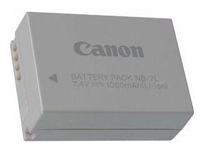 Bateria Canon NB-7L Compatibilidade:    - PowerShot SX30 IS - PowerShot G10 - PowerShot G11 - PowerShot G12