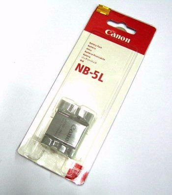 Bateria Canon NB-5L Power Shot SD 700, 790, 800, 850, 870, 880, 890, 900, 950, 970, 990  - SX200 IS