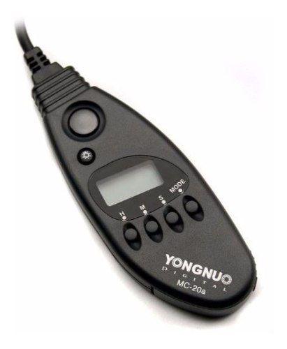 Controle Disparador Timer Youngnuo Mc-20 C1 Para Câmera Canon