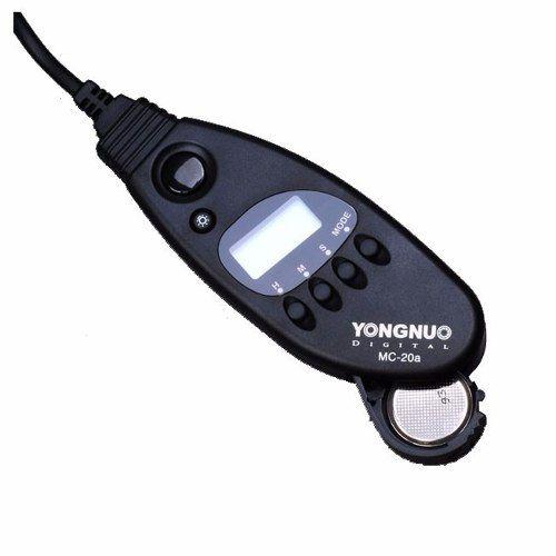 Controle Disparador Timer Youngnuo Mc-20 N1 Para Câmeran