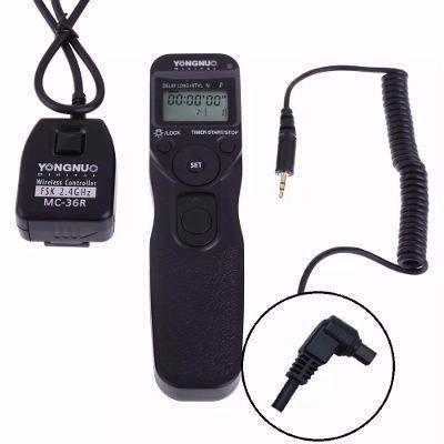 Controle Disparador Time Lapse Youngnuo Mc-36r N1