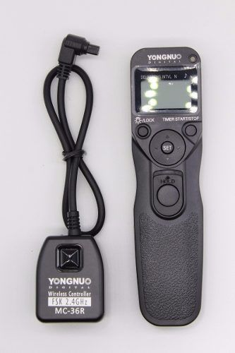 Controle Disparador Time Lapse Youngnuo Mc-36r N1