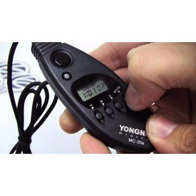Controle Disparador Timer Youngnuo Mc-20 N3 Para Câmera Nikon