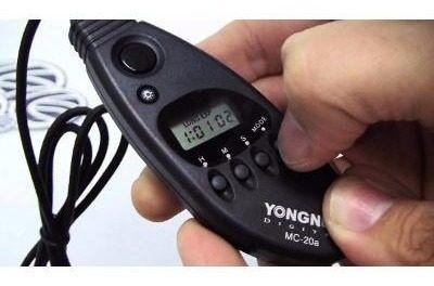 Controle Disparador Timer Yongnuo Mc-20 C3 Para Câmera Canon