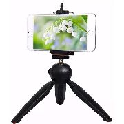Mini Tripé De Mesa + Suporte Para Celular Kit Youtubers Cams DSLR