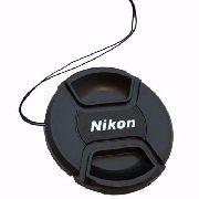 Tampa Frontal Com Logo Nikon Para Lentes 77mm